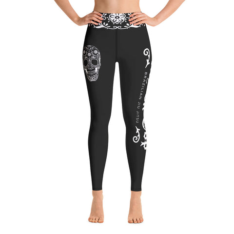 Black Stay On Top BJJ Spats - Women