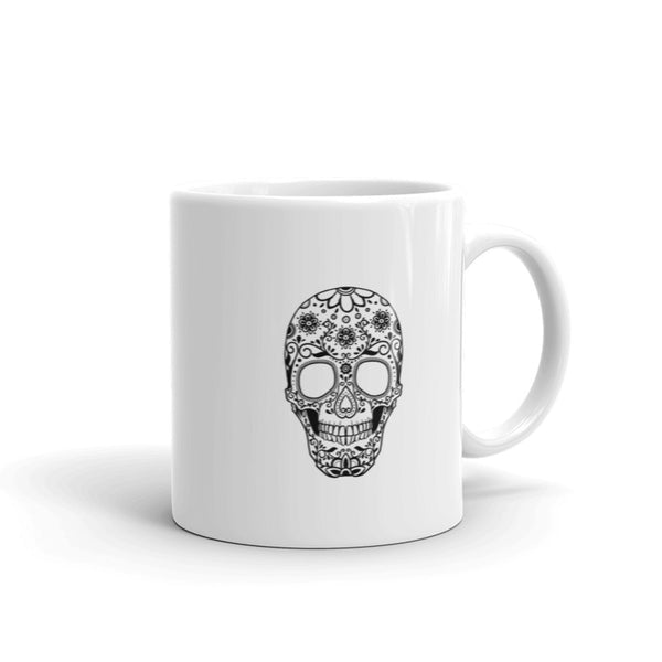 Skull and Jiu Jitsu Mug | Elegant and Simple