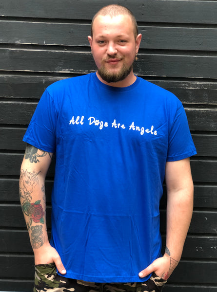 PLUS SIZE T-shirt - Blå.