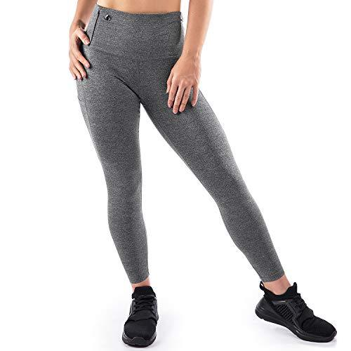 Mava High Waist Yoga Pants with Pockets - Workout Leggings for Women-WishfulMarket