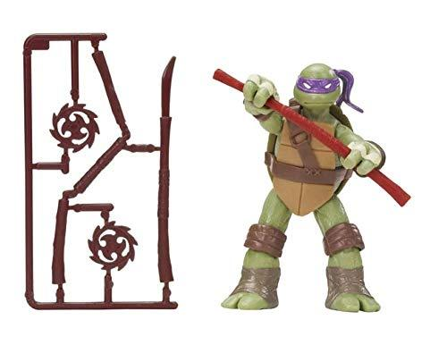 Nickelodeon Teenage Mutant Ninja Turtles Set of 4 Basic Action Figures [Leonardo, Michelangelo, Raphael & Donatello]-WishfulMarket
