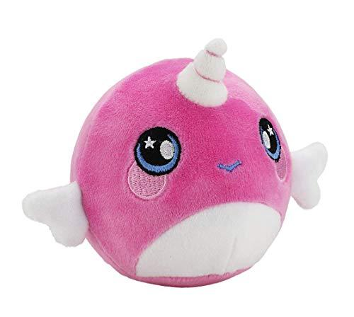 "Squeezamals, Narcissa Narwhal - 3.5"" Super-Squishy Foam Stuffed Animal! Squishy, Squeezable, Cute, Soft, Adorable!-WishfulMarket"