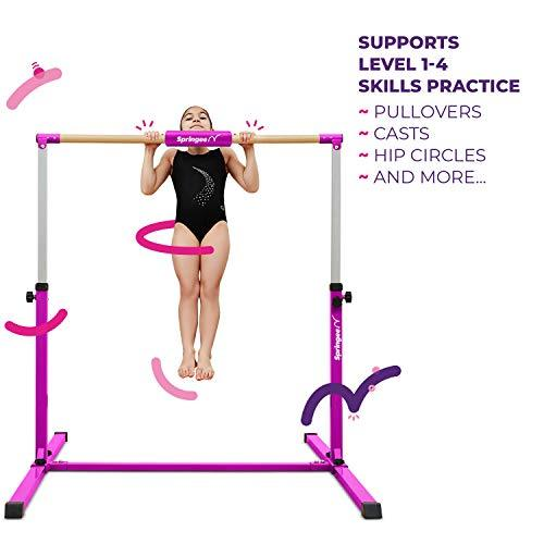 Springee Team Gymnastics Bar - Gymnastics Equipment for Home - Kip Bar-WishfulMarket