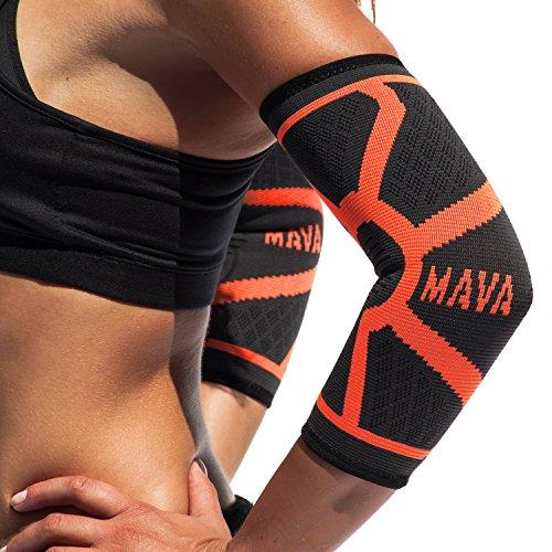 Elbow Brace Compression Sleeve - Reduce Joint Pain & Elbow Support-WishfulMarket