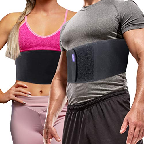 Broken Rib Brace for Men and Women - Bamboo Charcoal Rib Support Compression Brace-WishfulMarket