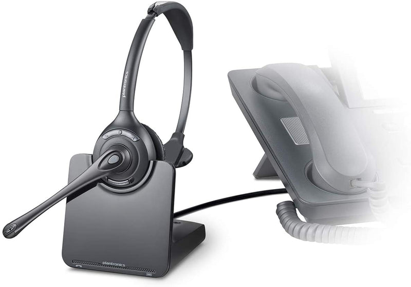 Plantronics CS510 - Over-the-Head monaural Wireless Headset System – DECT 6.0-WishfulMarket