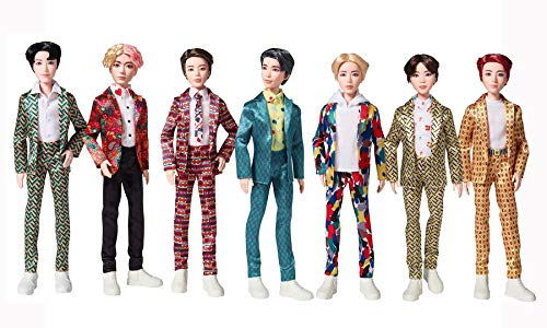 BTS Idol Core Fashion Doll, Bangtan Boys Doll Bundle, Set of 7