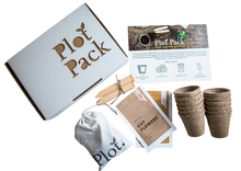Load image into Gallery viewer, Plot Australia Seed Raising Edition Plot Pack Flat Lay Unboxed