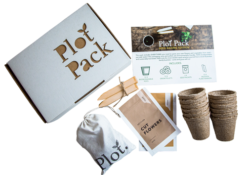 Plot Australia Seed Raising Edition Plot Pack Flat Lay Unboxed