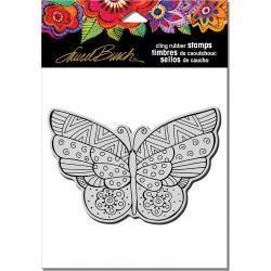 Stampendous Laurel Burch Cling Stamp Flutterbye - A Plus Craft
