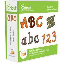 Cricut Font Cartridge Type Candy - A Plus Craft