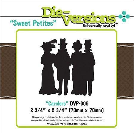 Die-Versions Sweet Petites Die, Carolers, 2-3/4