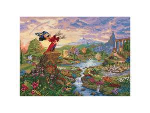 Disney Dreams Collection By Thomas Kinkade Fantasia 16