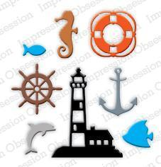 Impression Obsession dies Mini Nautical Set - A Plus Craft