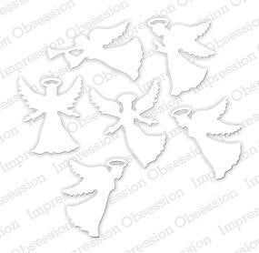 Impression Obsession dies Small Angel Set - A Plus Craft