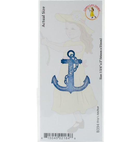 Cheery Lynn Designs Die Ships Anchor, 1.75