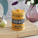 Barrel chutney jar