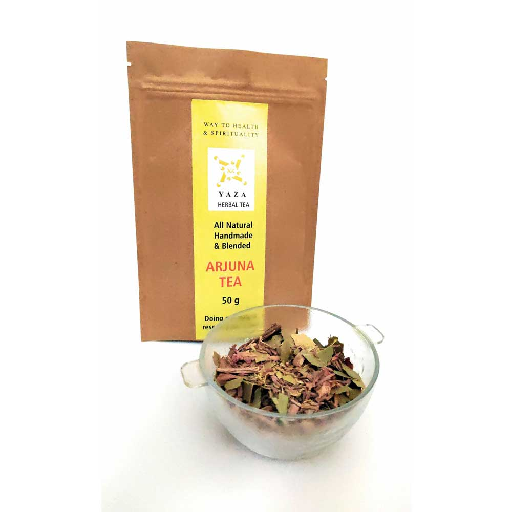 Yaza Arjuna Tea Organic Ancient Healer (50g -25 cups)