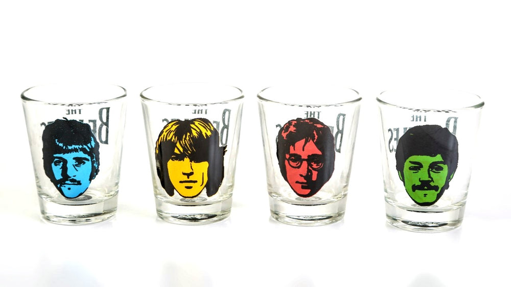 Beatles Shot Glass (set of 4)