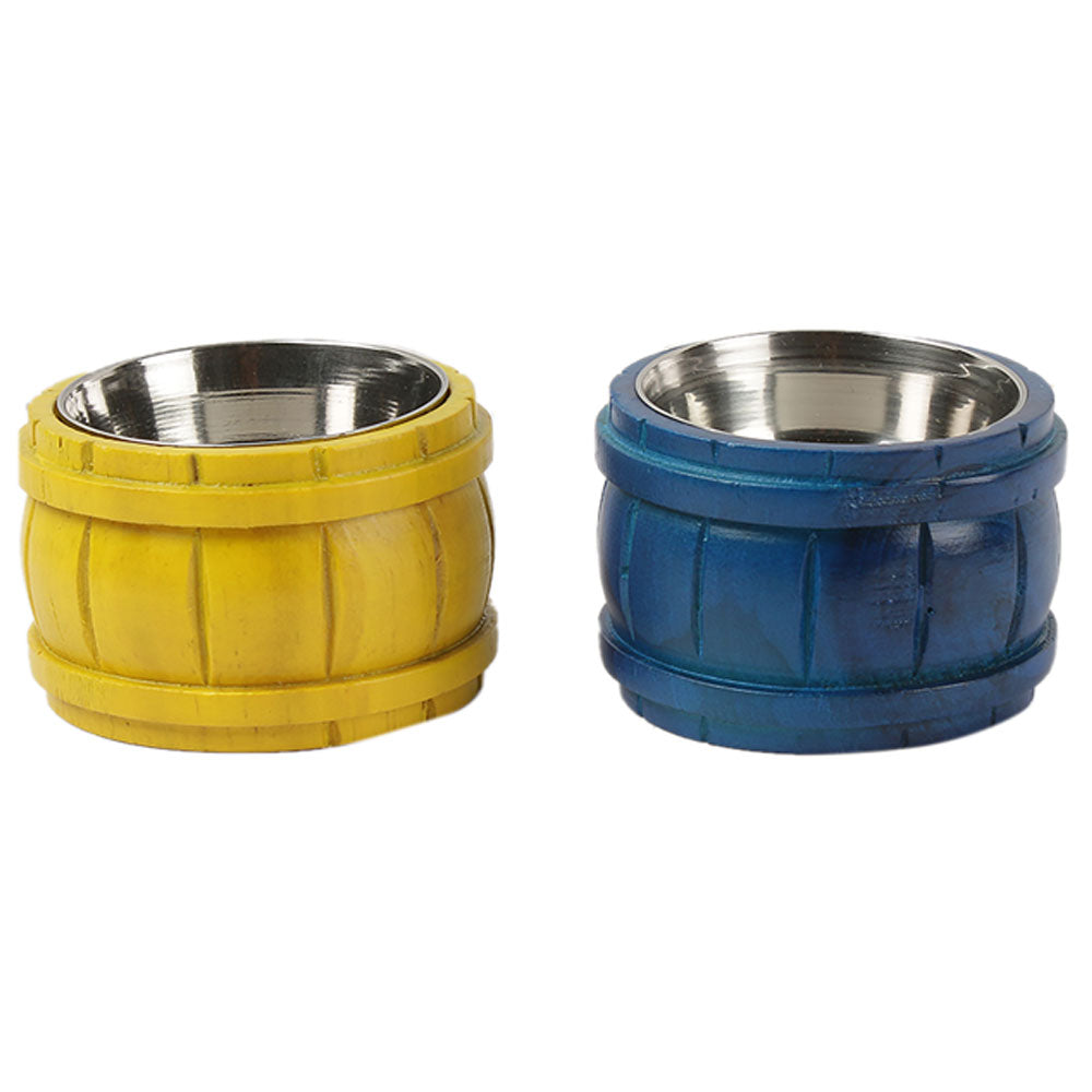 Barrel Dip Bowls (for chutneys)
