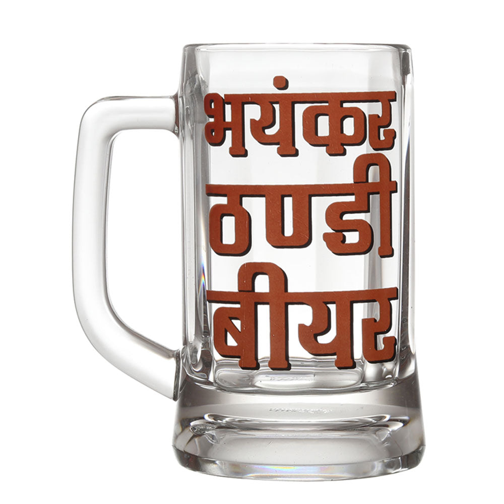 Bhyankar Thanda Beer Mug