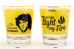 Jim Morrison Shot Glass (set of 2)