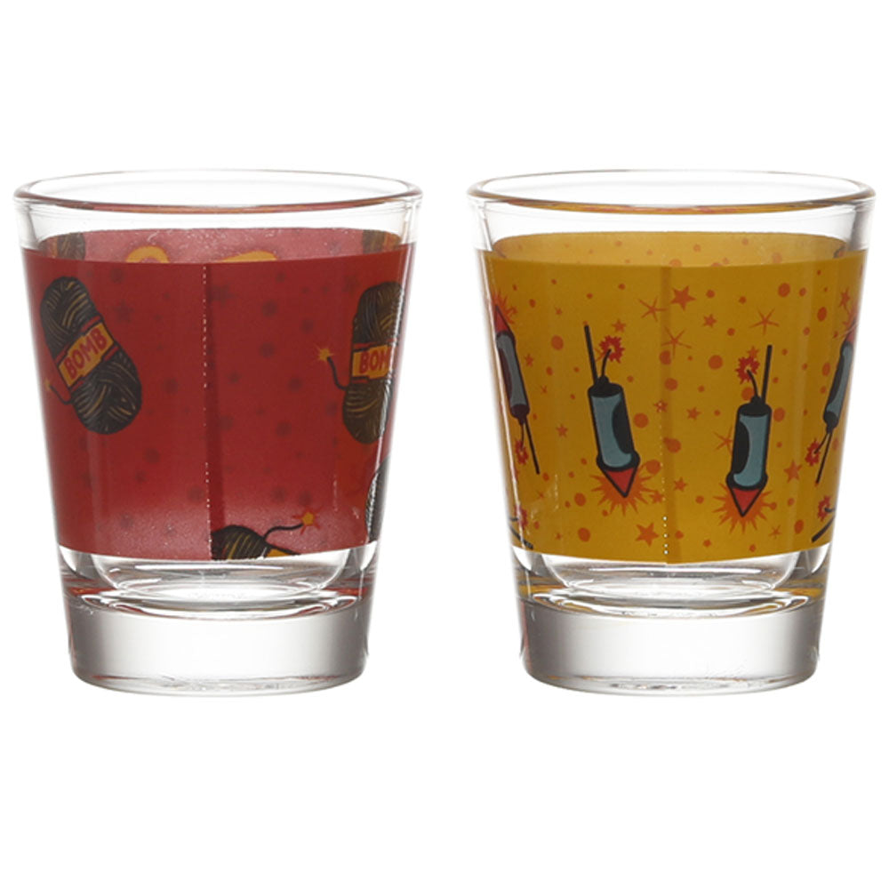 KURI PATAKA-SEXY MUNDA SHOT GLASS SET OF 2