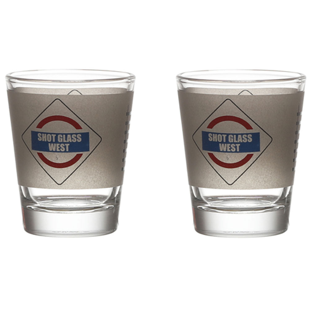 AAMCHI MUMBAI SHOT GLASS SET OF 2
