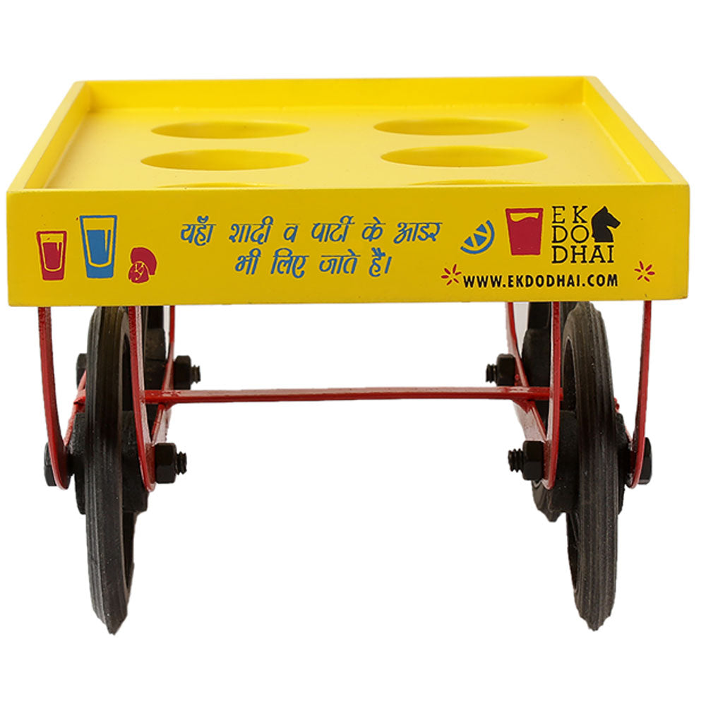 SHOT GLASS THELA (Shot Glass Trolley) with Shot Glasses