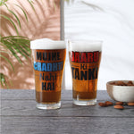 Chadti Nahi Beer Glass set of 2(360ml)