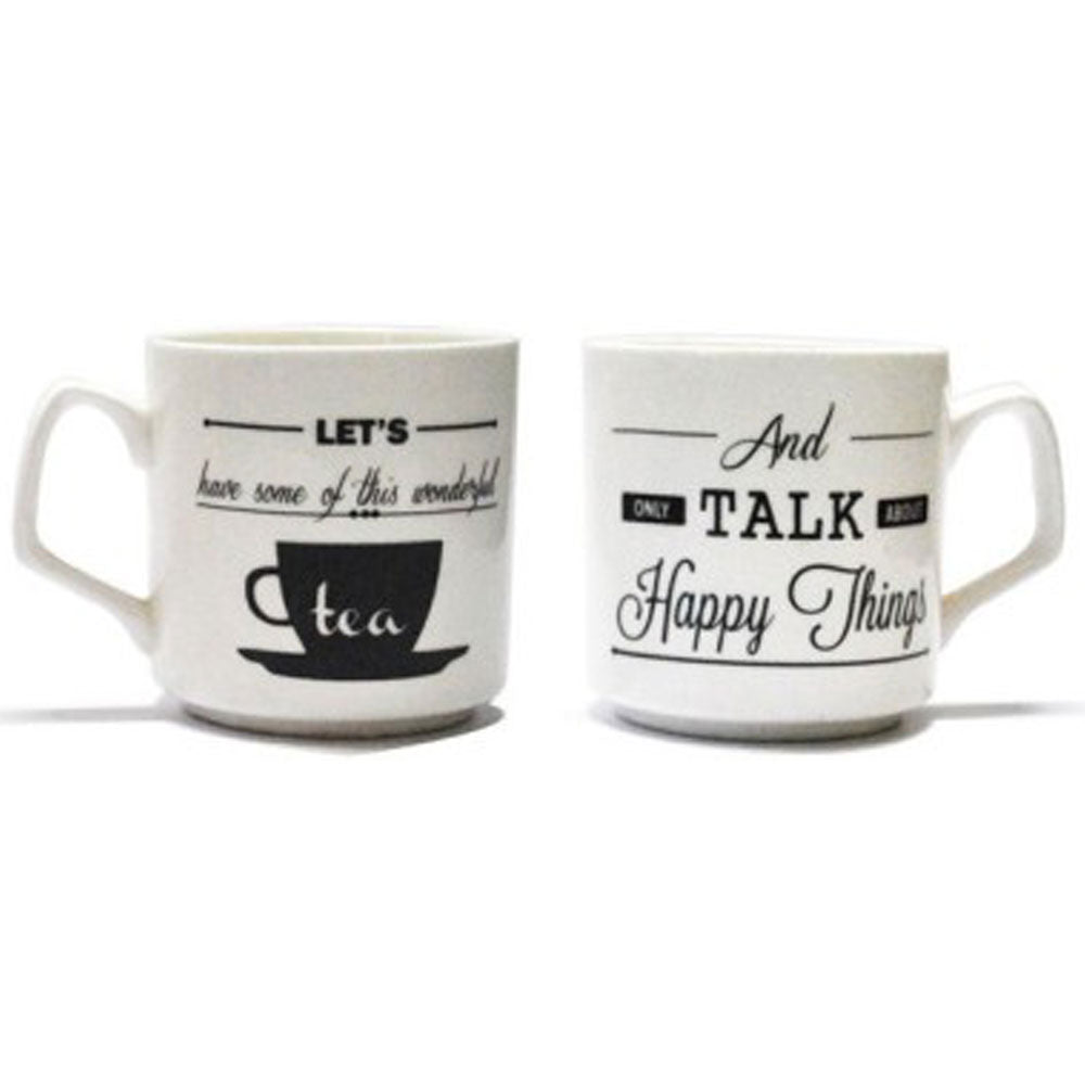 Tea Talk Cups (set of 2)