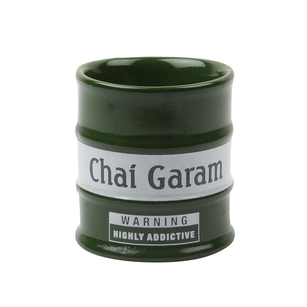 Barrel Garam Chai Glasses (set of 2)