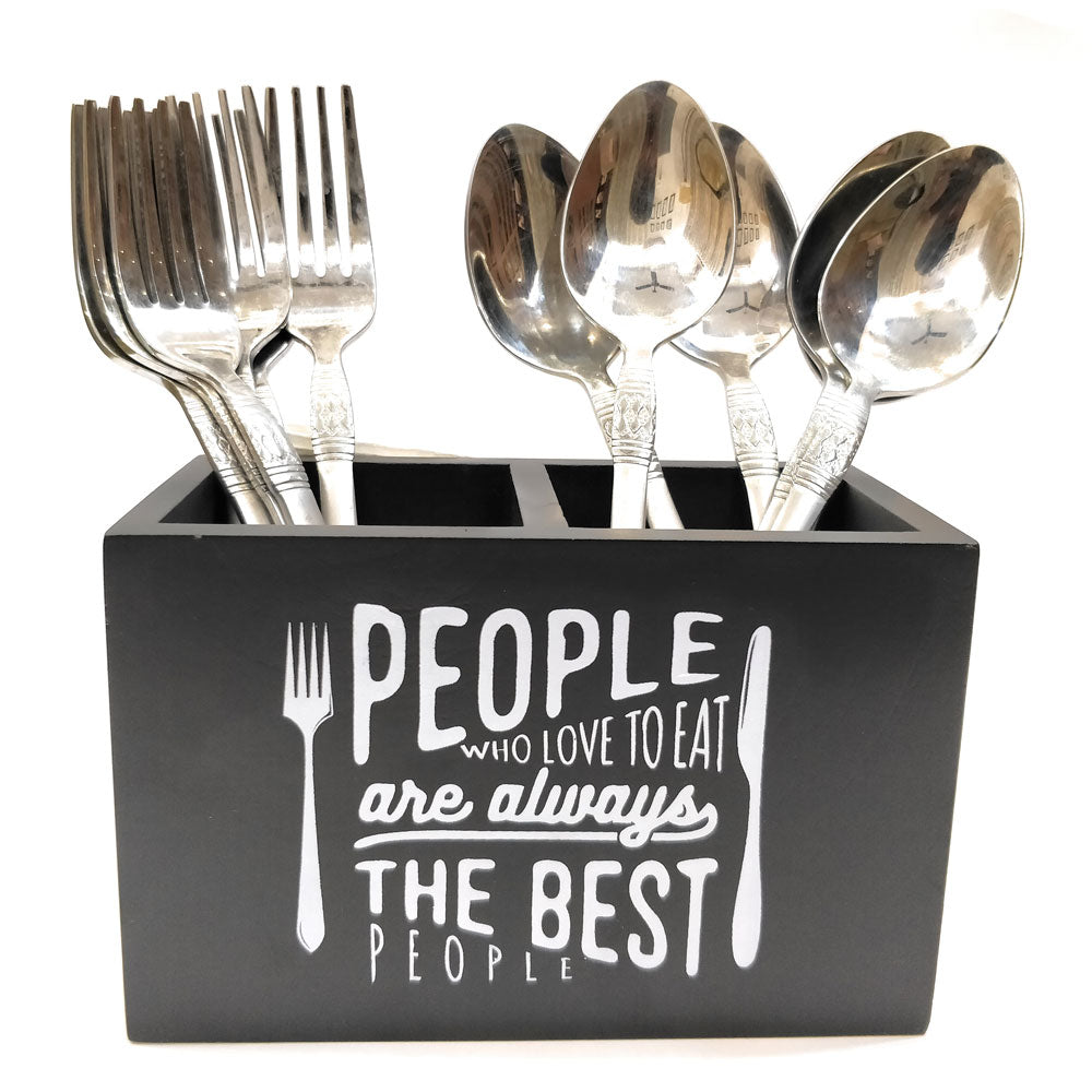Bon Appetit Cutlery & Tissue Holder