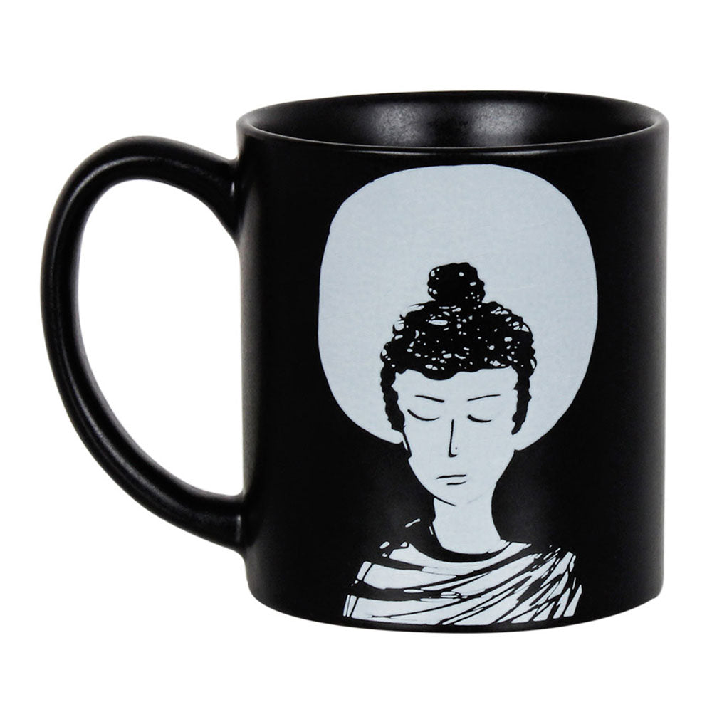 Alone Buddha Coffee Mug