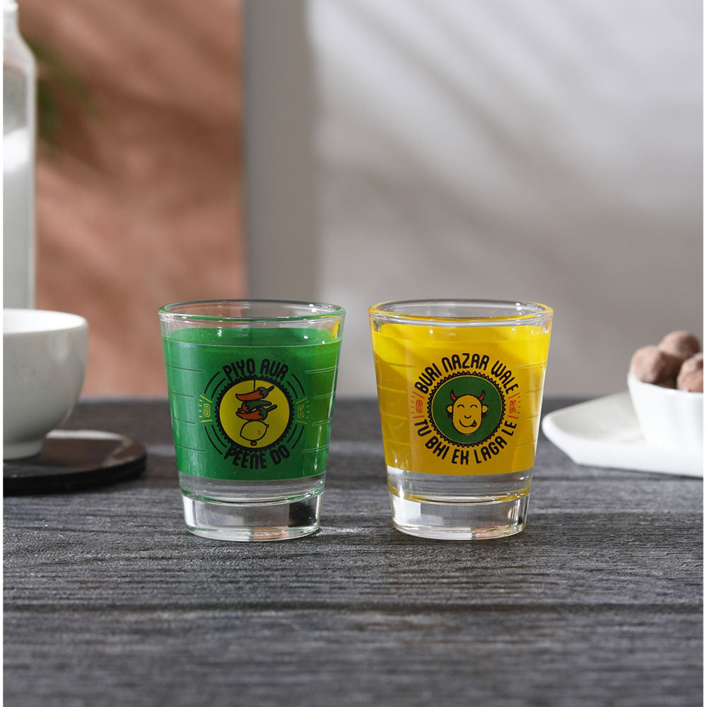 BURI NAJAR WALE SHOT (GLASS SET OF 2)