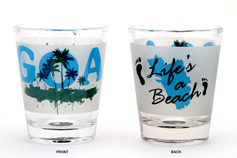 Goa Shot Glass (set of 2)