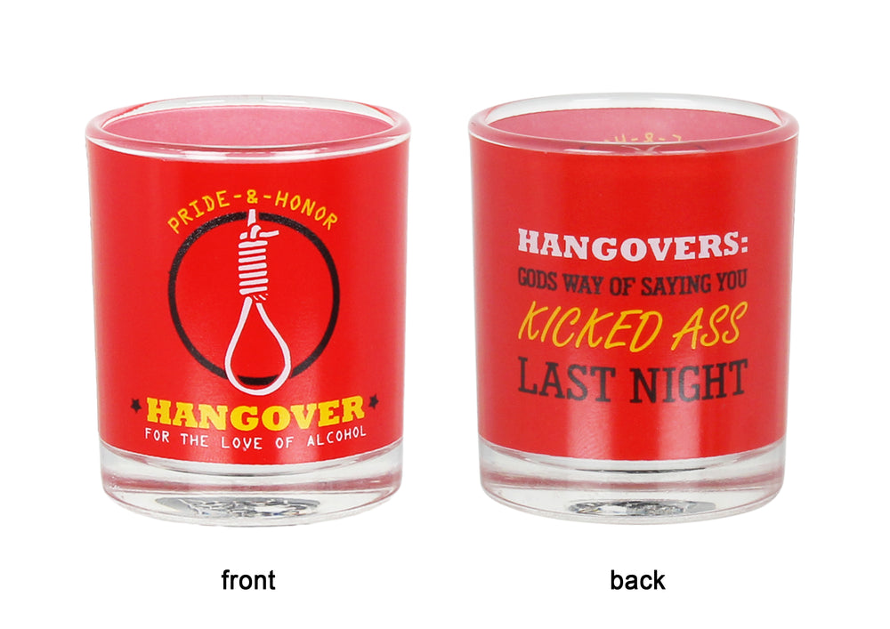 Hangover Shot Glass (set of 2)