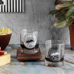 Wanderlust Whisky Glasses