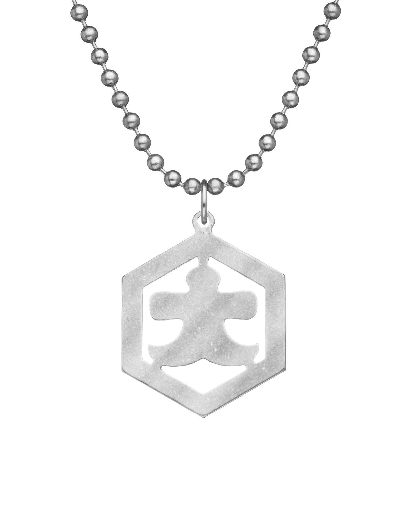 GI JEWELRY Military Issue Stainless Steel Izumo Necklace