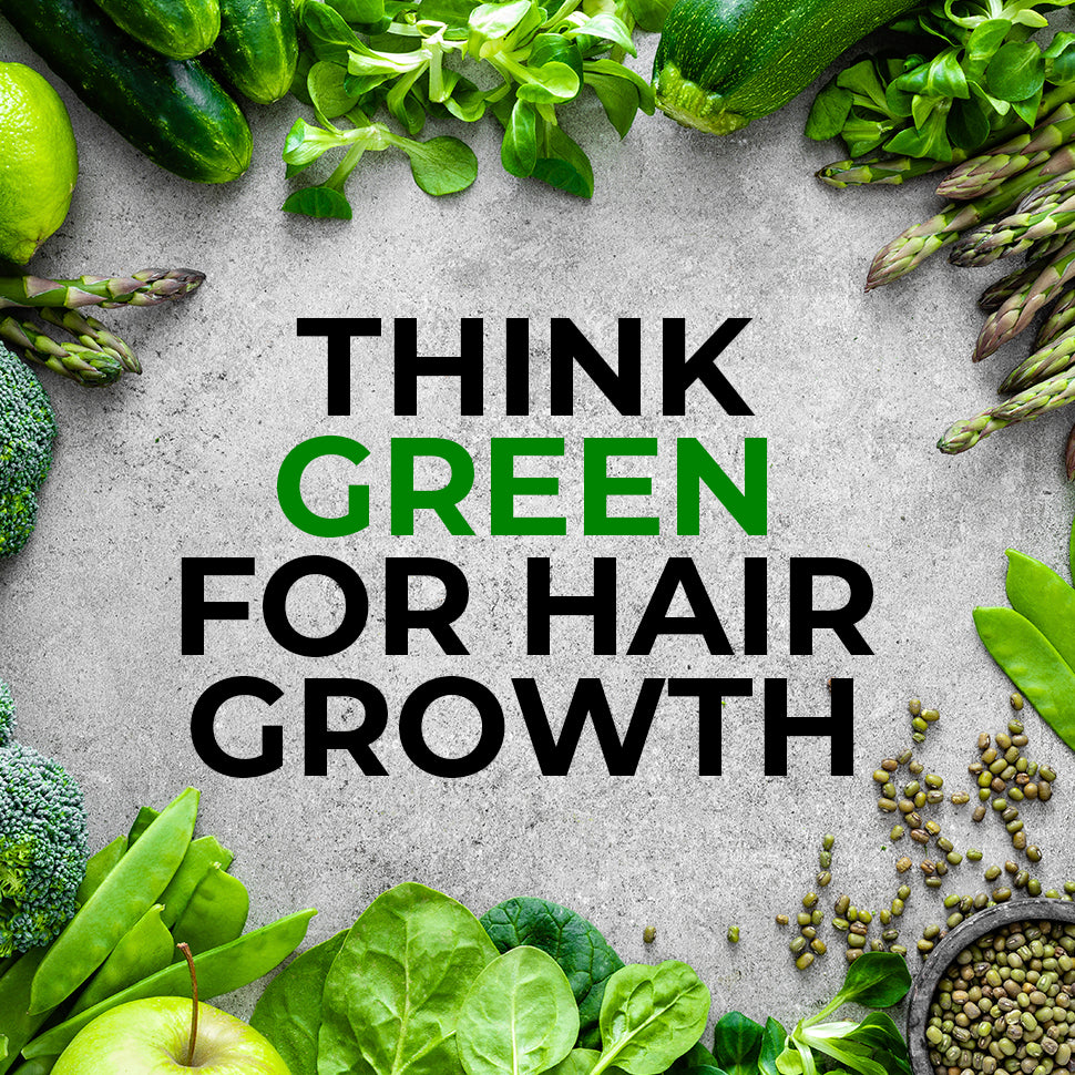 Think Green For Hair Growth
