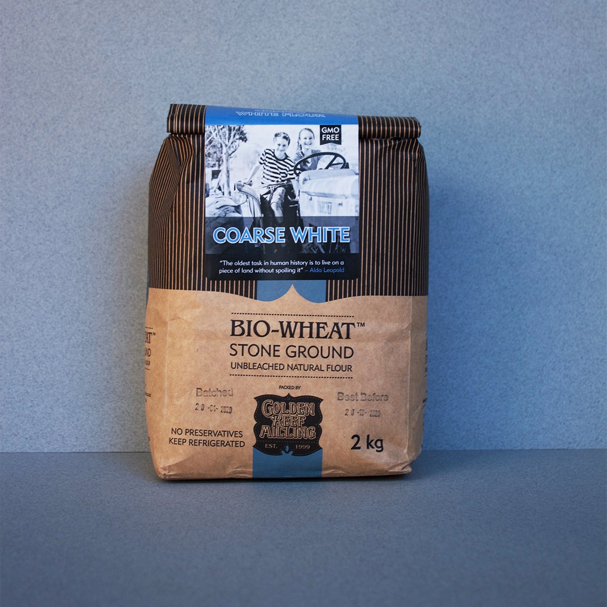 Bio-Wheat Flour - The Fat Butcher