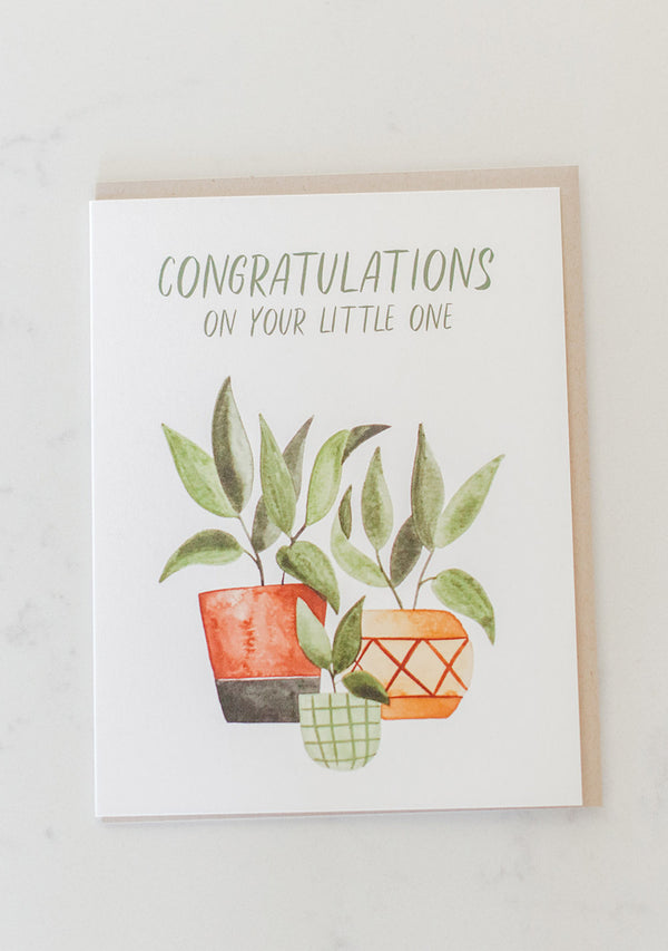 Little One Congrats Card