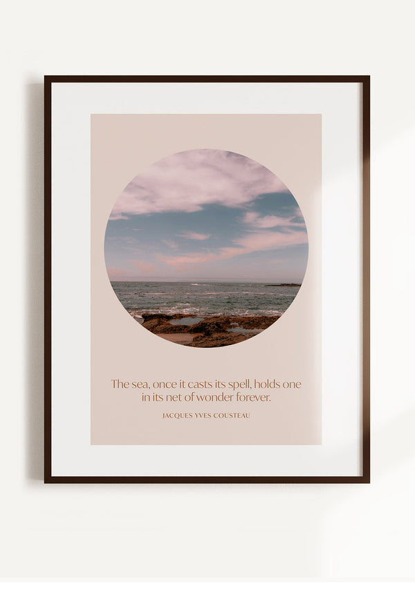The Sea of Wonder Wall Art Print
