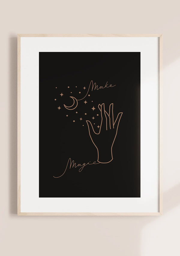 Make Magic Wall Art Print