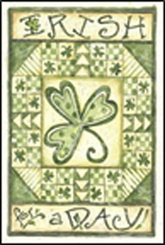 Irish For A Day House Flag,  #H00005