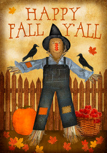 Happy Fall Y'all Garden Flag, #G00060