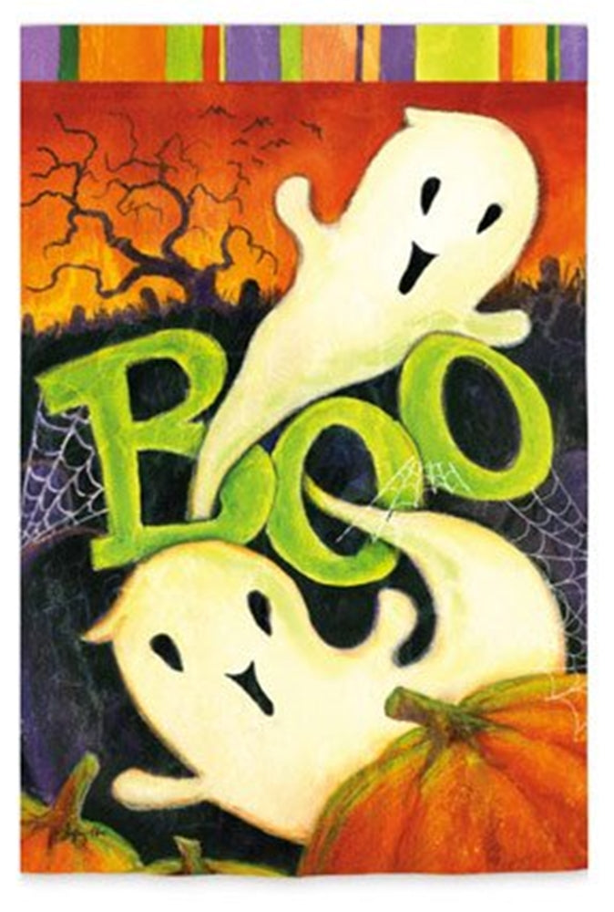 Boo Ghost Garden Flag,  #14s2543gc/14s2603