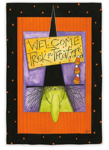 Witchy Welcome House Flag,  #13S2600