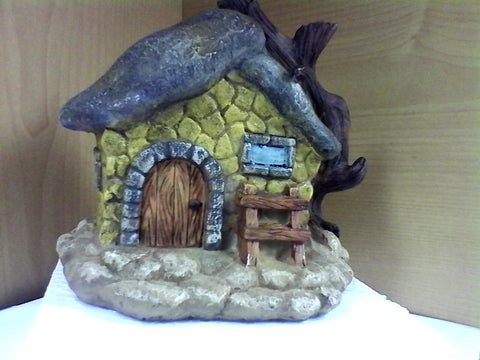 Troll Fairy House with Tree