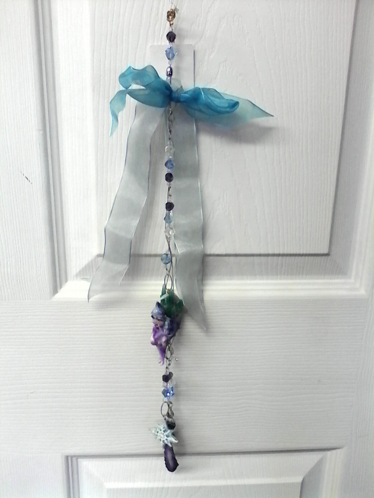 Blue Fairy Hanging Tassel